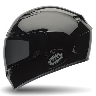 Bell Qualifier DLX Road Helmet - Solid Gloss Black