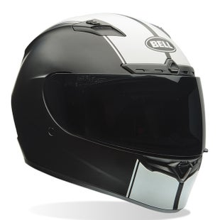 Bell Qualifier DLX Road Helmet - Rally Matte Black White