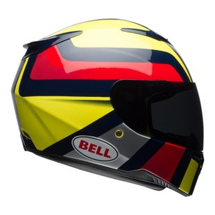 Bell RS2Helmet Empire Hi Road Helmet - Vis Yellow Navy Red
