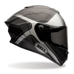 Bell Race Star Road Helmet - Tracer Matte Black Grey
