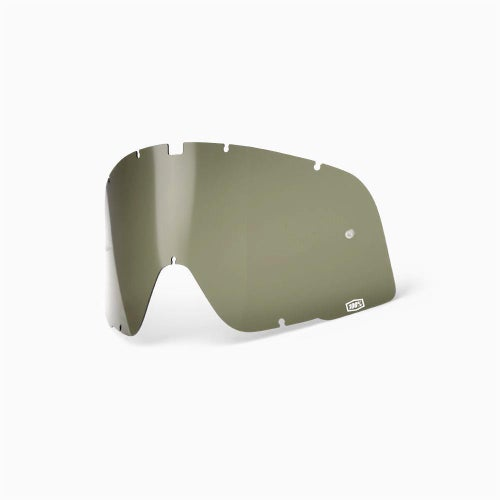 100 Percent Barstow Dalloz Curved Motocross Goggle Lense - Olive Green