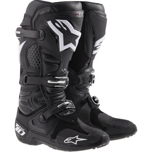 Alpinestars Tech 10 MX Motocross Boots - Black