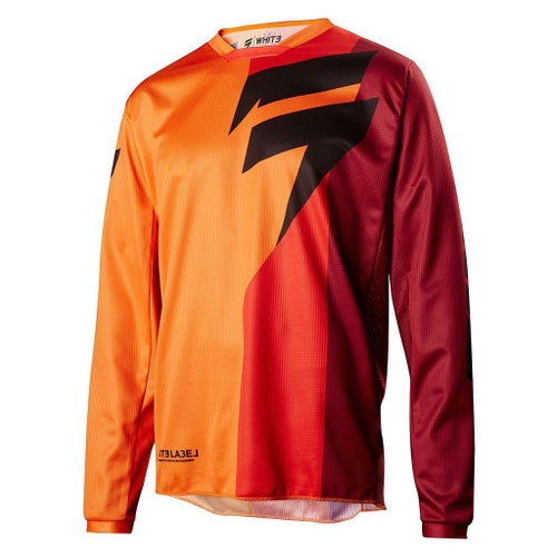 Shift WHIT3 LABEL Tarmac Motocross Jerseys - Orange