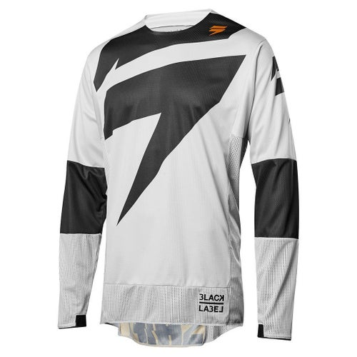 Shift MX 3LACK LABEL Mainline Motocross Jerseys - Light Grey