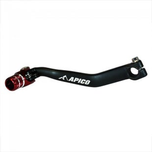 Apico Gear Pedal Montesa 250 4RT 0517 Gear Lever - Black Red