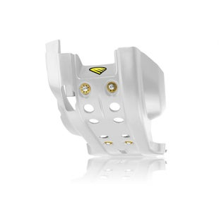 Cycra Full Combat Skid Plate Husqvarna FE 350 1416 Skid And Bash Plate - White