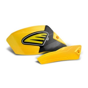 Cycra Ultra Pro Bend Low Cover Replacement MX Hand Guard - Husqvarna Yellow
