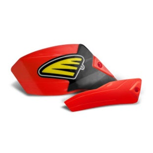Cycra Ultra Pro Bend Low Cover Replacement MX Handguard Spares - Red
