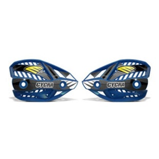 Cycra Ultra Pro Bend Upper Shield Replacement MX Hand Guard - Husqvarna Blue