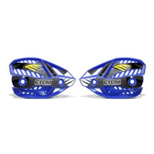 Cycra Ultra Pro Bend Upper Shield Replacement MX Handguard Spares - Blue
