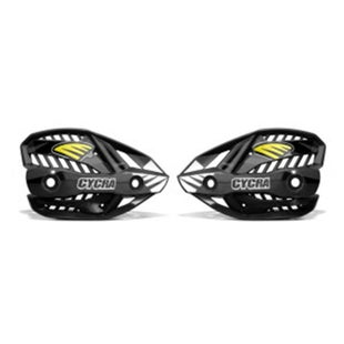 Cycra Ultra Pro Bend Upper Shield Replacement MX Hand Guard - Black