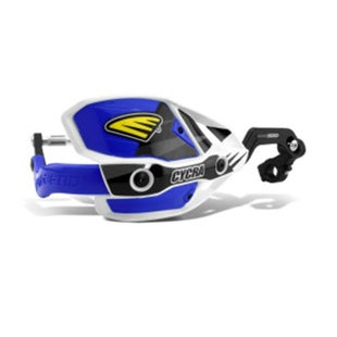Cycra New ULTRA Probend CRM Wrap Around Handguards MX Hand Guard - White Blue
