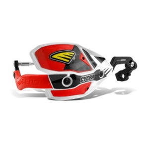 Cycra New ULTRA Probend CRM Wrap Around Handguards MX Hand Guard - White Red