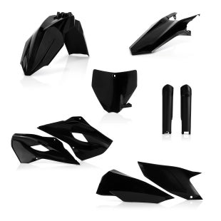 Acerbis Full Plastic Kit Husqvarna FE 501 Plastic Kit - Black