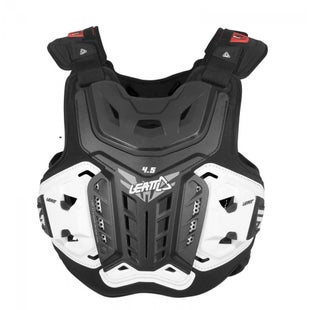 Leatt 4.5 MX Motocross and Enduro Chest Protector Torso Protection - Black