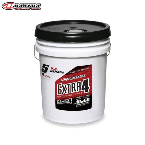 Engine Oil Maxima 4T Extra 4 100 Ester Synthetic SAE 10w60 19 Litre - T Extra 4 100% Ester Synthetic (SAE 10w60) 19 Litre
