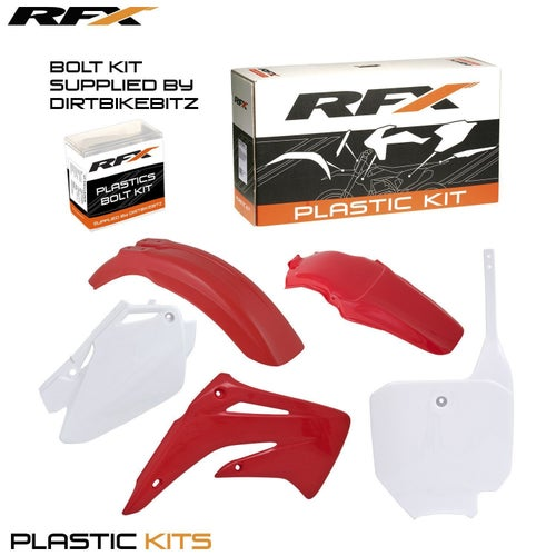 RFX Plastic Kit Honda OEM CR85 03 Plastic Kit - 07 (4 Pc Kit)