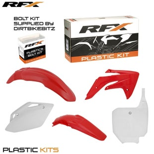 RFX Plastic Kit Honda OEM CRF150 07 Plastic Kit - 16 (5 Pc Kit)