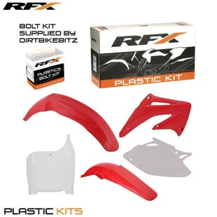 RFX Plastic Kit Honda OEM CRF450 02 Plastic Kit - 03 (5 Pc Kit)