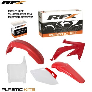 RFX Plastic Kit Honda OEM CRF450 05 Plastic Kit - 06 (5 Pc Kit)