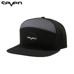 Seven Casual New Era Cap - Ozone Hat Black Gray