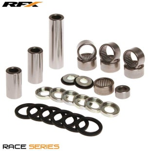 RFX Race Series Linkage Kit Suzuki DRZ400S 00 Swing Arm Linkage Kit - Grey