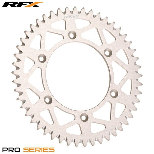 RFX Pro Series Elite Rear Sprocket Suzuki RM125250 RMZ250450 8617 Rear Sprocket - Silver