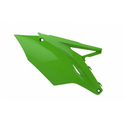 Polisport Plastics Side Panel Kawasaki KX450FGreen 05 Side Panel Plastic - ide Panel Kawasaki KX450FGreen 05