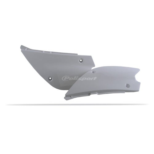 Polisport Plastics Side Panel Suzuki RM100 03 Side Panel Plastic - 08 White