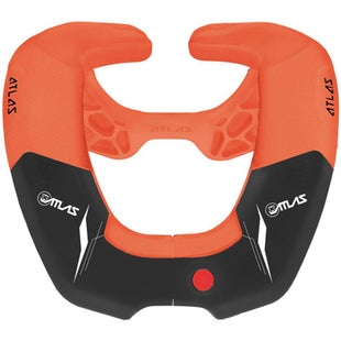 Atlas KIDS MX Motocross Broll Brace , Neck Brace - Pumpkin