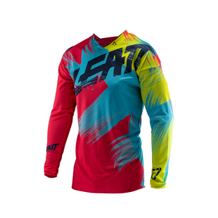 Leatt GPX 2.5 YOUTH Enduro and Motocross Jerseys - Red Lime