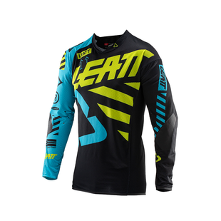 Leatt GPX 3.5 YOUTH Enduro and Motocross Jerseys - Black Lime
