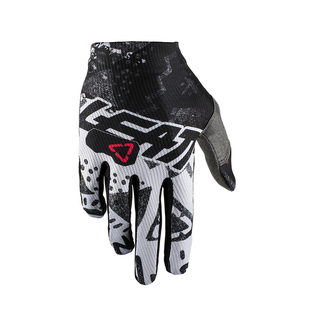 Leatt GPX 1.5 GripR Enduro and Motocross Gloves - Tech White