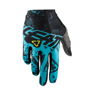 Leatt GPX 1.5 GripR Enduro and Motocross Gloves - Tech Blue