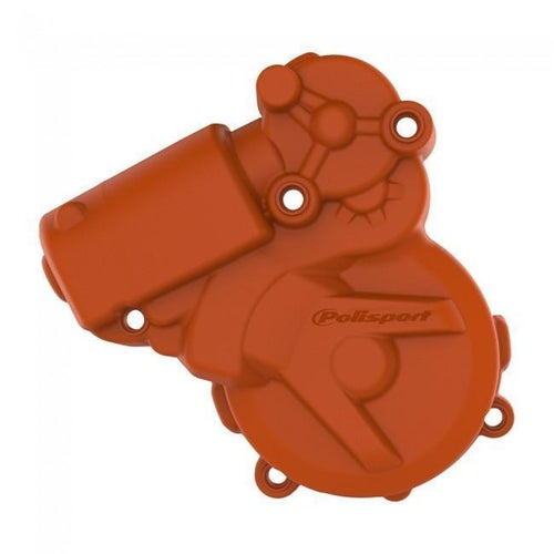 Polisport Plastics IGNITION COVER PROTECTOR KTM HUSKY EXC250 300 1116 FREERIDE 25 Ignition Cover - 16 ORANGE