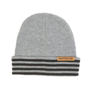 Fasthouse Four Stripe Beanie Grey Beanie - our Stripe Beanie Grey