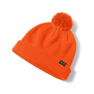 Oakley Riviera Pom Beanie - Neon Orange