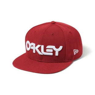 Oakley B1B Novelty Snapback Cap - Red Line