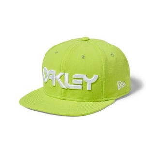 Oakley B1B Novelty Snapback Cap - Lazer Yellow