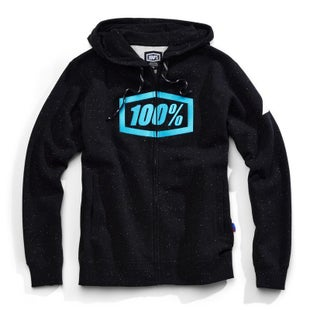 100 Percent Syndicate Zip Hooded Sweatshirt Zip Hoody - Hyperloop