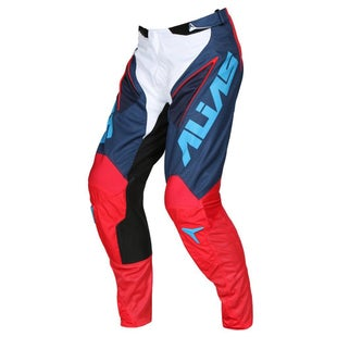 Alias A1 Classic MX Motocross Pants - Navy Red