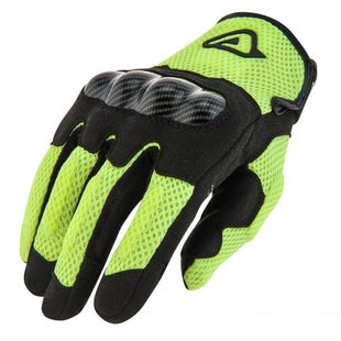 Acerbis Ramsey My Vented Dual Bike Gloves - Yellow