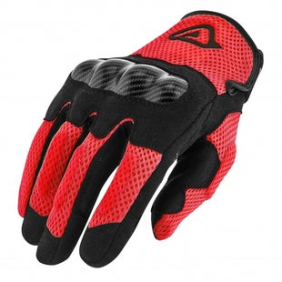 Acerbis Ramsey My Vented Dual Bike Gloves - Red