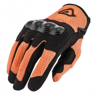 Acerbis Ramsey My Vented Dual Bike Gloves - Orange