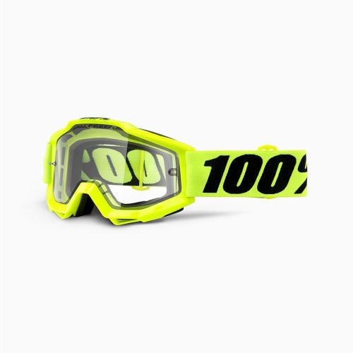 100 Percent Accuri Enduro MX Brillen - Dual Clear Vented Lens