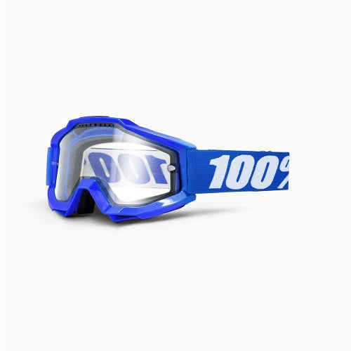100 Percent Accuri Enduro Motocross Goggles - Dual Clear Vented Lens