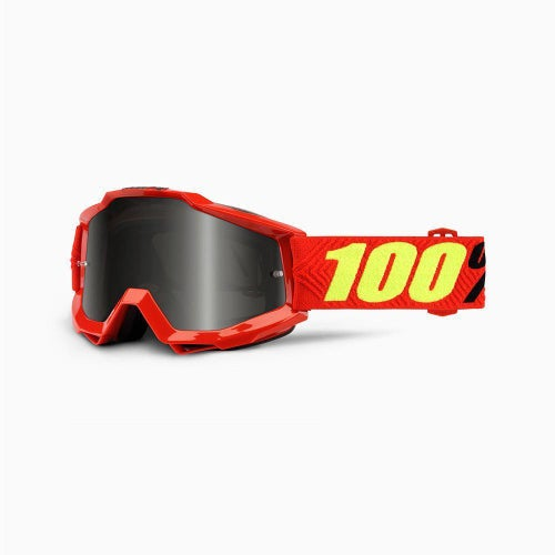 100 Percent Accuri Saarinen Motocross Goggles - Grey Lens + Clear Lens