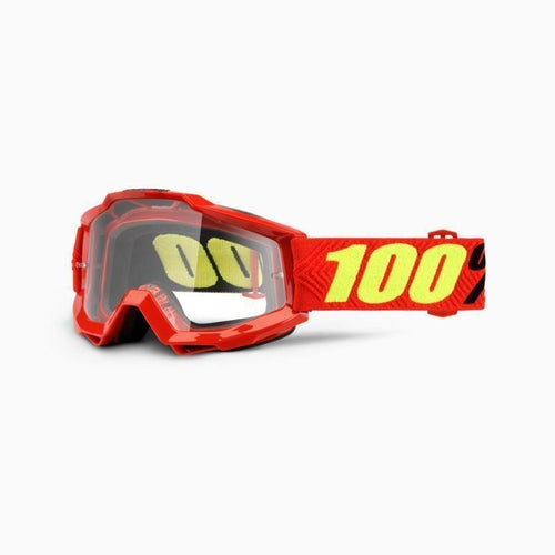 100 Percent Accuri Saarinen OTG Motocross Goggles - Clear Lens