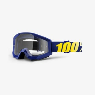 100 Percent Strata MX Hope Motocross Goggles - Clear Lens