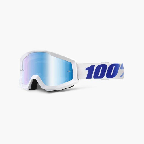 100 Percent Strata Equinox MX Brillen - Mirror Blue Lens